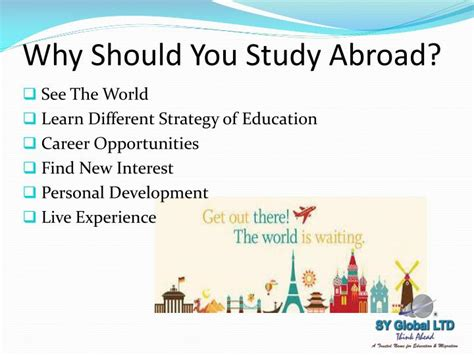 why study abroad in the usa what to expect and prepare for books ppt study abroad and canada immigration powerpoint