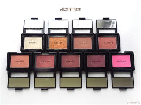 E L F Studio Blush Mellow Mauve e l f studio blush review makeupfu