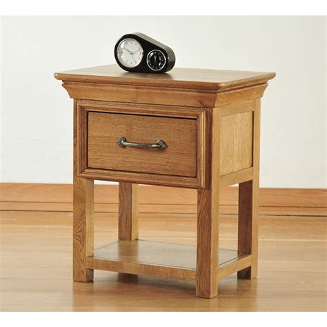 Small End Table With Drawer by Toulon Solid Oak Furniture Small Side End L Table With