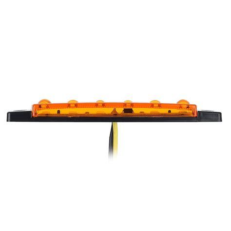 boat trailer side marker lights 10x 12v 6 led truck boat trailer side marker indicators