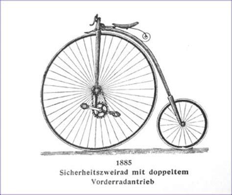 wann wurde das fahrrad erfunden fahrrad geschichte