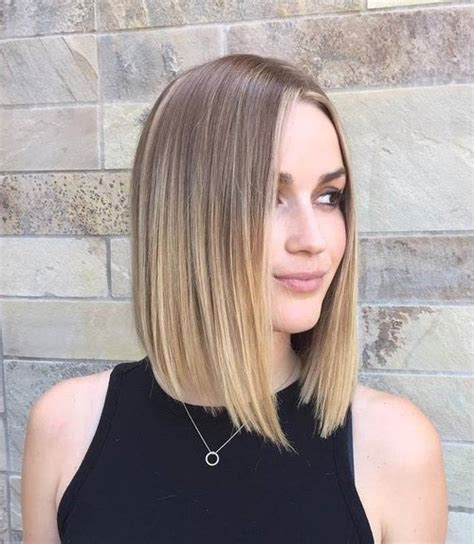shoulder length blunt cut 70 best a line bob haircuts screaming with class and style