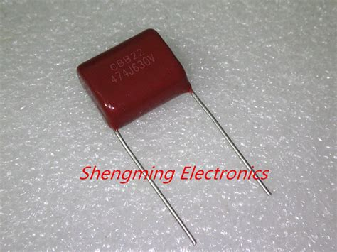 474j capacitor 20pcs 630v 474j 0 47uf 470nf 5 p 15mm cbb capacitor in capacitors from electronic components