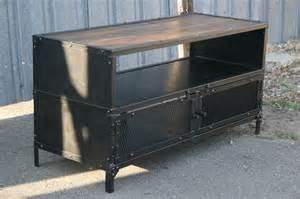 industrial tv stands combine 9 industrial furniture industrial tv stand