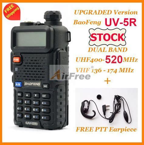 Weirwei Uv 5r Dual Band Dual Ptt 2 sets original baofeng uv 5r dual band ham radio 136 174 400 520mhz uhf vhf pofung uv 5r walkie