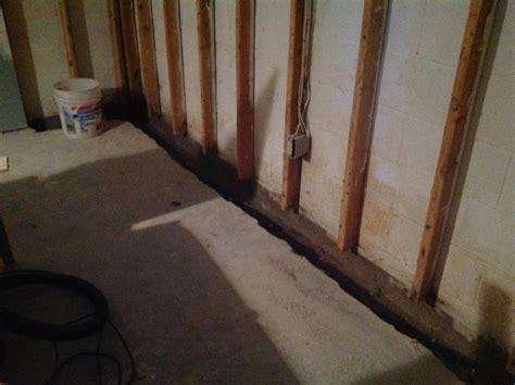 basement waterproofing waterproofing a finished basement