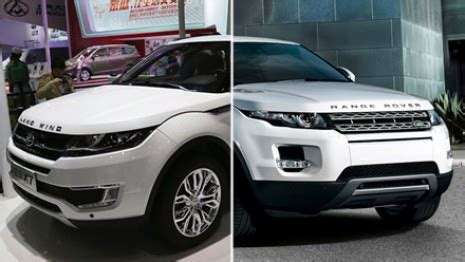 landwind x7: £14,000 range rover 'copy' sparks official