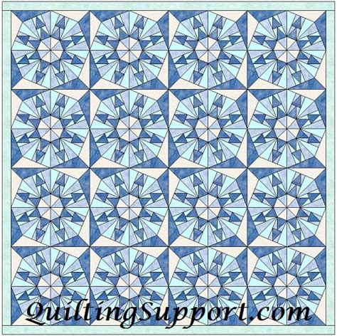 Snowflake Quilting Design by Snowflake Template Quilting Patterns