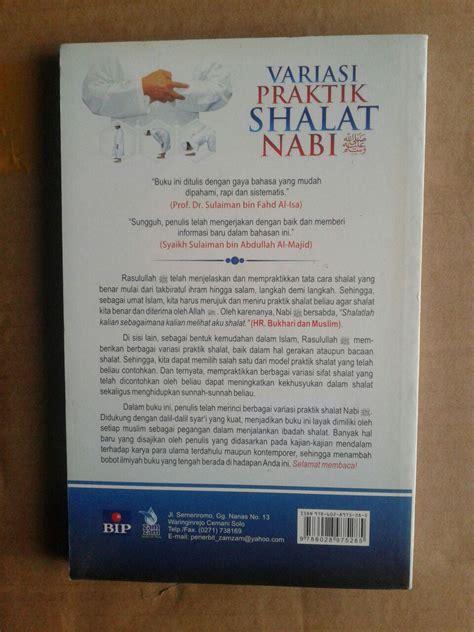 300 Dosa Yang Diremehkan Manusia Cover buku variasi praktik shalat nabi kajian lengkap shalat