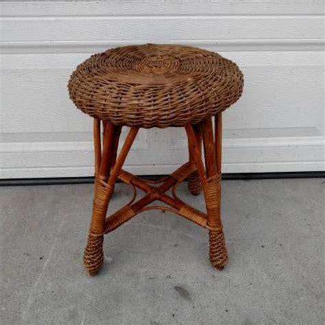 wicker bathroom vanity stool small tropical wicker vanity stool loveseat vintage