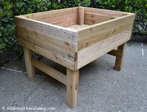 how to build an elevated garden bed how to build an elevated garden