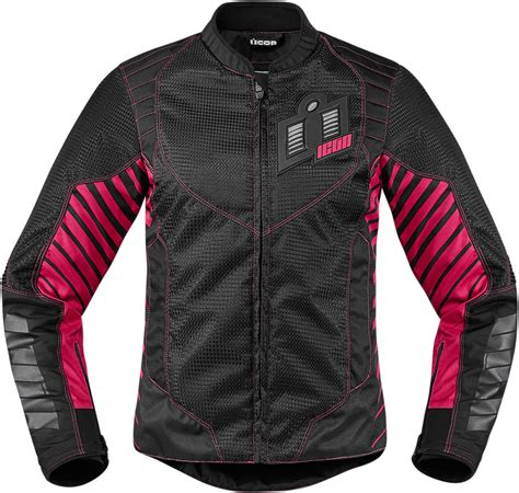 womens motorcycle apparel icon motorsports wireform women s textile jacket street