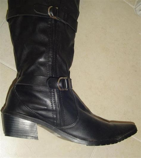 cowboy boots for sale black western cowboy boots sz 37 for sale