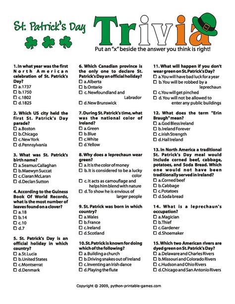 printable easter quiz for adults easy printable trivia questions for seniors olympic quiz