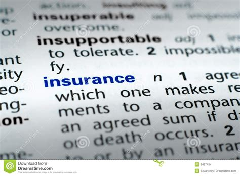 house insurance definition definition of insurance stock images image 6427454