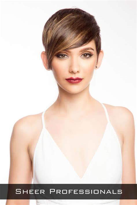 short pixie cut caramel the 41 ultimate short hairstyles for long faces