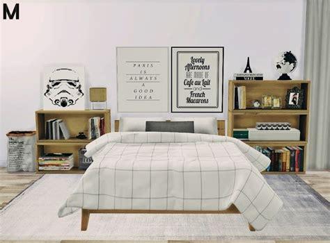 sims  ccs   bedroom set  mxims sims  cc