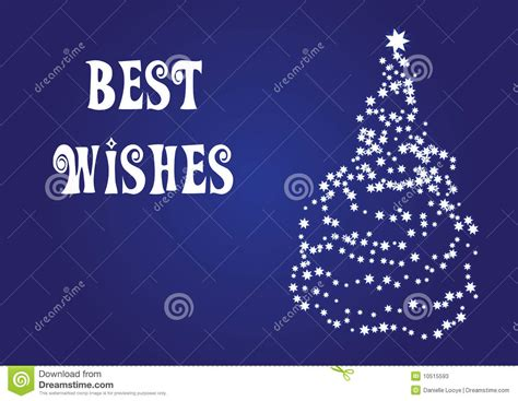 wishes christmas vector card stock  image