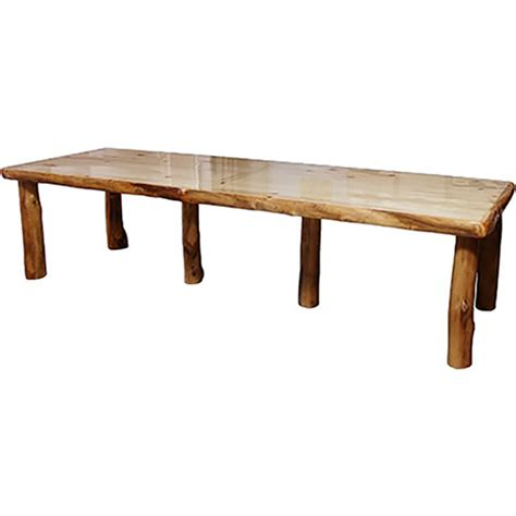Aspen Dining Table Light Aspen 42 Wide Dining Table Rustic Log Reclaimed Industrial Contemporary Furniture