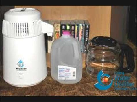 info on the megahome mh943 countertop water distiller