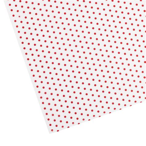 polka dot waxed tissue the container store