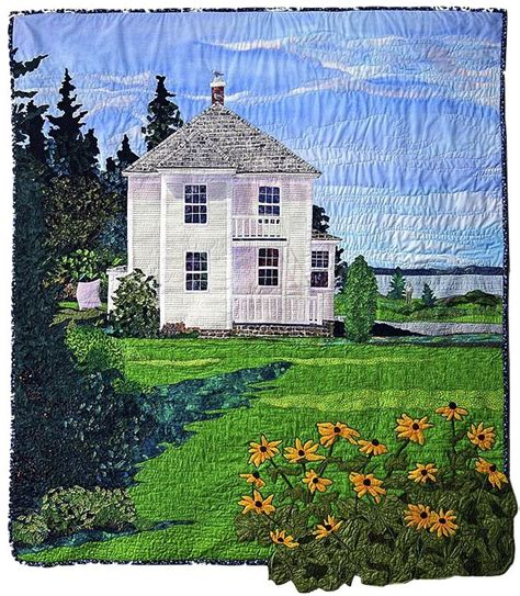Landscape Fabric Scotia 17 Best Images About Laurie Swim Quilt Artist On