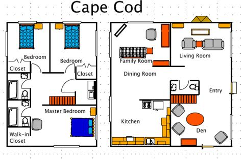 cape style floor plans cape plans house layout sloped roof shed home small