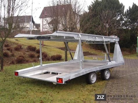 car and boat trailer double decker double deck for rv html autos post