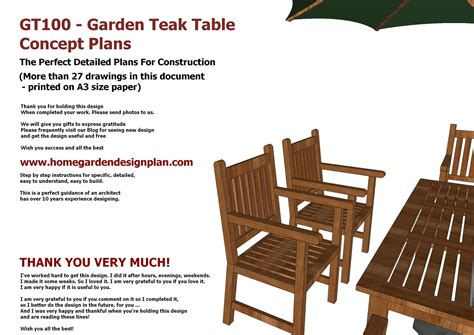 free patio furniture plans wood chairs teak and patio on