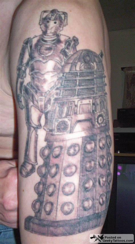 the who tattoo doctor who archaeology and material culture
