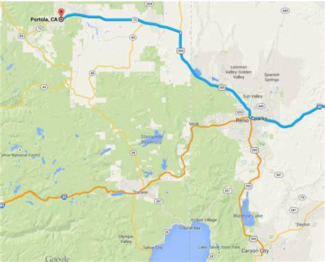 portola area maps city of portola california