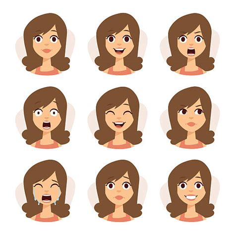 expression cartoons illustrations vector stock images facial expression clip art vector images illustrations