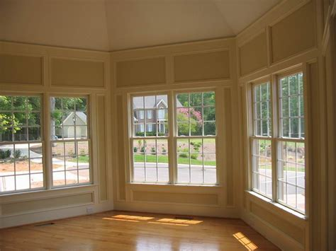 Floor To Ceiling Bay Window by Raleigh Contractors Custom Kitchens Decks Remodeling