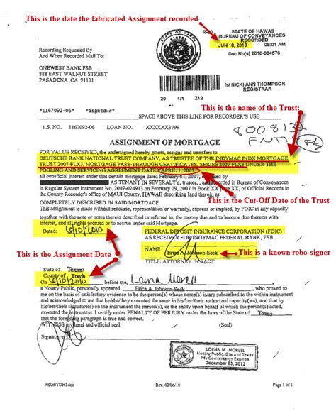 Mortgage Assignment Letter How To Search The Sec For A Securitized Trust Deadly Clear