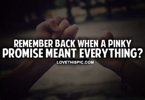 Pinky Promise Quotes Tumblr