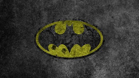 Yellow Batman Logo   Windows Mode