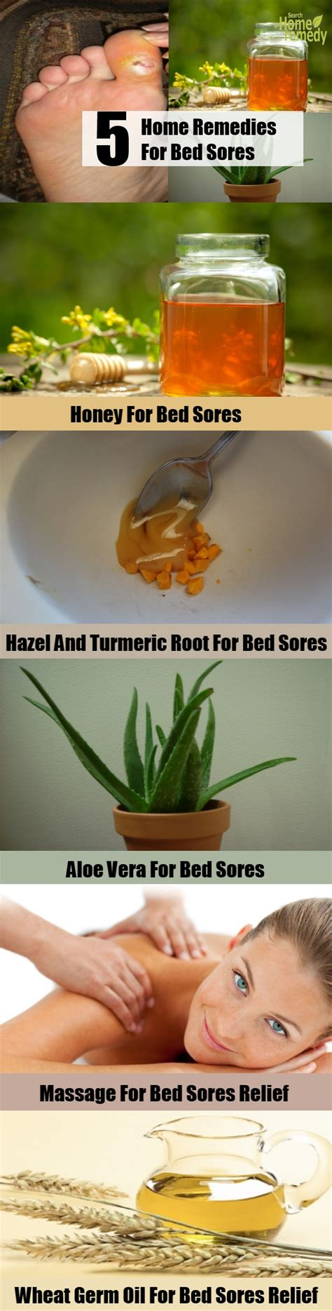 Treatment For Bed Sores Home Remedies by 5 Top Home Remedies For Bed Sores Remedy
