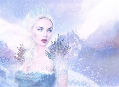 the snow queen a snow queen by joyamelie on