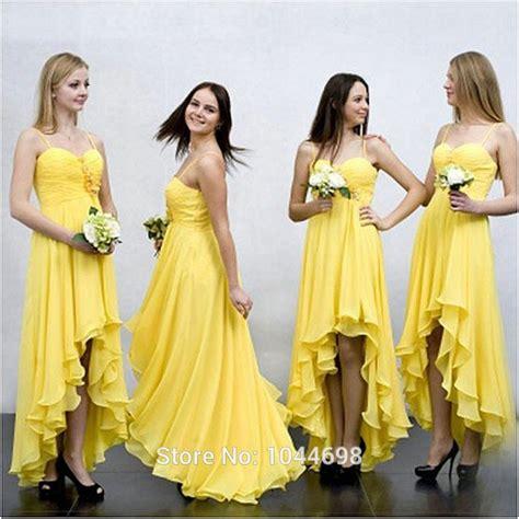Yellow Bridesmaid Dress by Popular Yellow Junior Bridesmaid Dresses Buy Cheap Yellow