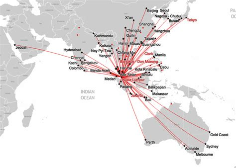 Airasia Route | fly unlimited in south east asia for less than 150