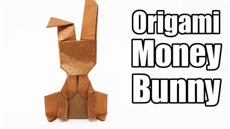 How To Make A Bunny Out Of Paper - origami money bunny jo nakashima
