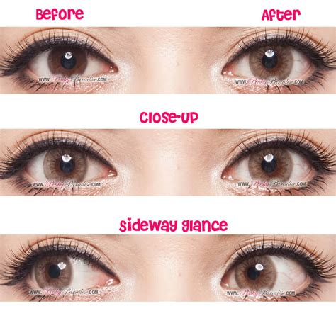 Princess Cloudy Light Brown Circle Lenses