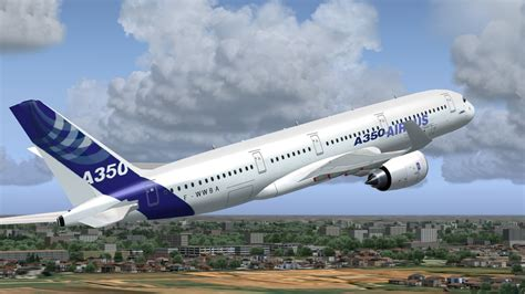 airbus design for environment afs design airbus a350 family v2 for fsx the flightsim