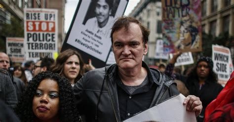 quentin tarantino latest film officers boycott of quentin tarantino films grows the