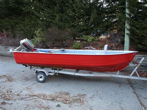 aluminum boats red deer 17 foot aluminum boat with aluminum trailer outside