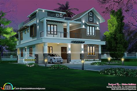 new house plan in kerala 2017