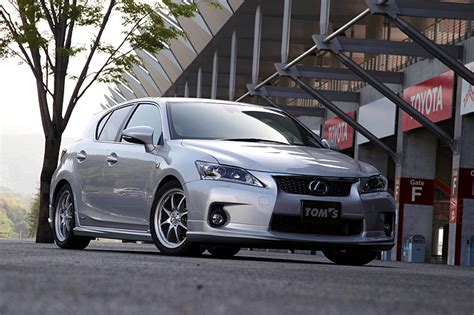 lexus ct200 custom lexus ct200h tom s bodykit