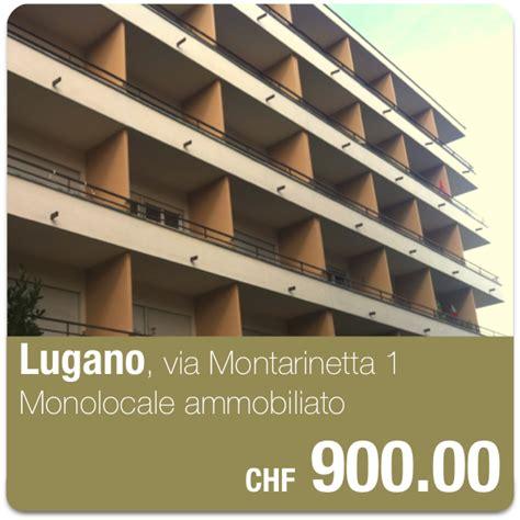 appartamenti ammobiliati lugano lugano via montarinetta monolocale a chf 900 00 mensili