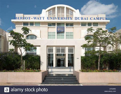 Heriot Watt Dubai Mba by Heriot Watt Dubai Cus In Academic City