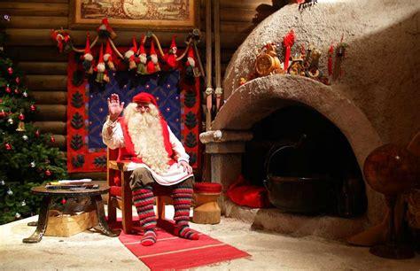 imágenes de santa claus en la vida real una navidad en el pueblo de santa claus
